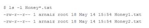 Captura: Los ficheros trampa generados, antes de ser cifrados