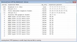 Captura: Análisis avanzado del binario en ExeInfoPE