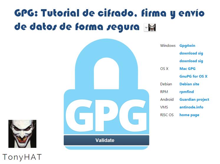 Cifrado GPG - Blog - 2