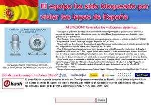 Captura de RansomWare en España