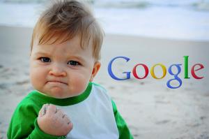 "Logo: ""Google"" ;-))"