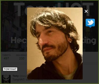 Jesús A.Moraga, Twitter, o2