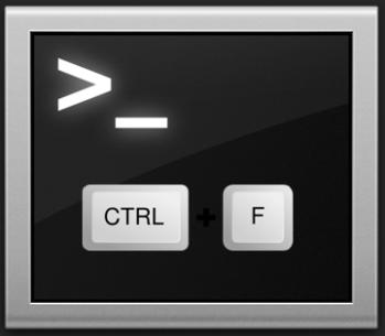 """Captura: Combinación de teclas """"CTRL + F"""" para ver los """"archivos ocultos""""."""