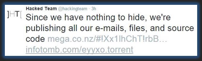 Twit enviado desde la cuenta oficial.