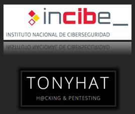 Incibe & TonyHAT - logos