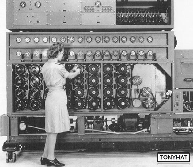 """Captura: Las Máquinas de """"Turing"""" ahora son conocidas como """"Computadoras"""" u """"Ordenadores""""."""
