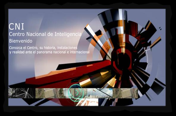 Captura: CNI - España - web, uno de los presuntos clientes de Hacking Team en España.