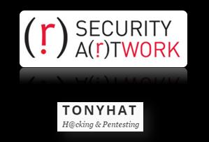 Security at work & TonyHAT - logo