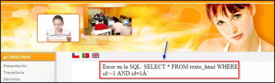 SQL Injection - BLOG - 3