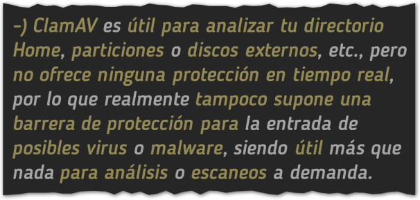 Básicos 14, Antivirus linux, BLOG - 25