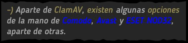 Básicos 14, Antivirus linux, BLOG - 29