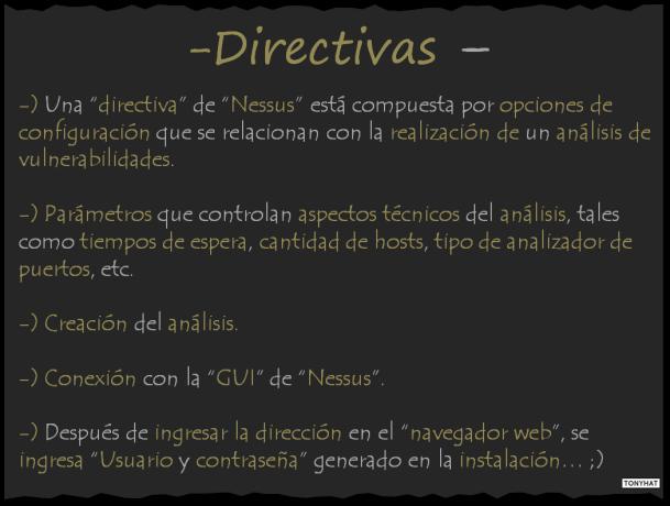 Captura: Transcripción de Guía de Usuario de Nessus }:)