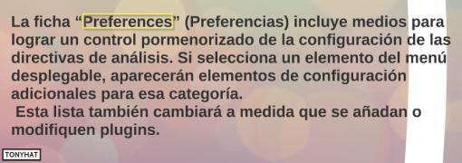 Captura 8: Preferencias -)