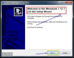 Captura: Procedemos a instalar la nueva versión :)