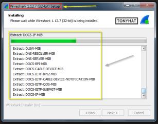 "Captura: ""Wireshark"" en plenos proceso de ""creación""... ;)"