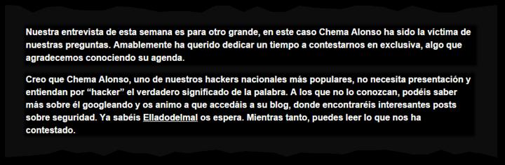 C. Alonso & H. Teso - BLOG - 7