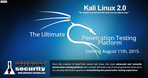 Kali Linux, distro 2.0 - BLOG - 10