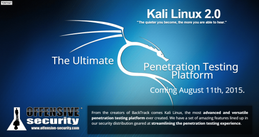 Kali Linux, distro 2.0 - BLOG - 10