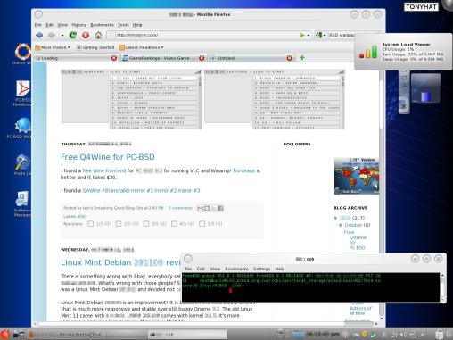 Captura: Berkeley Software Distribution (BSD) :)