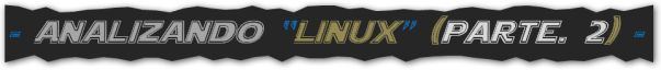 Analyzing Linux, parte. I, BLOG - 019