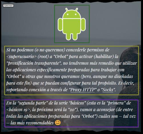 Básicos 19, Deep Web, walk with android, BLOG - 034