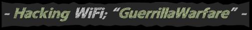 GitHub Armory, Hacking WiFi, BLOG - 4