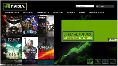 Captura 2: Nvidia (web) publi y sin cobrar }:S