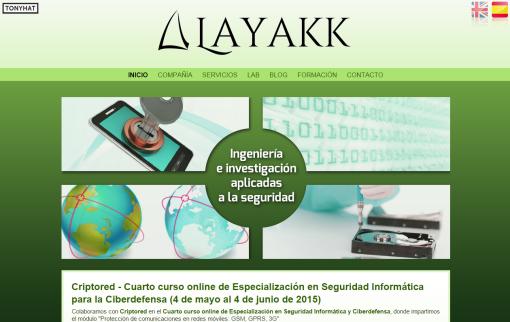 Captura: Layakk (página web) ;)