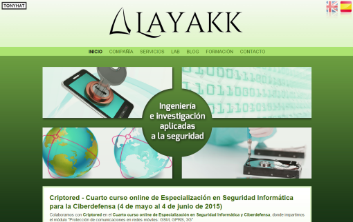Captura: Layakk (página web) ;)