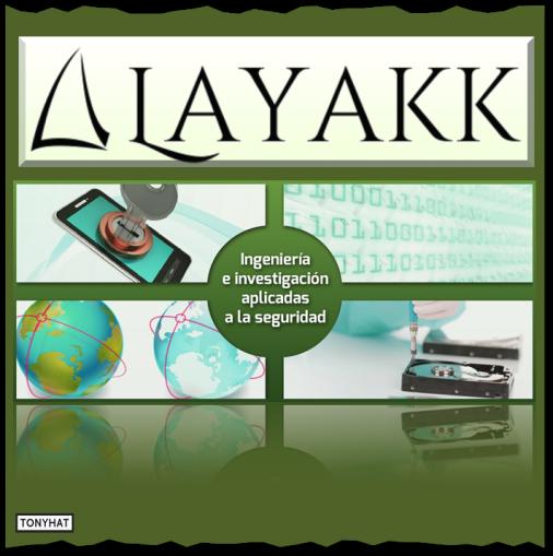 Captura 3: Layakk (compañía que centra su estrategia en dos grandes pilares: la investigación y la ingeniería) }:D