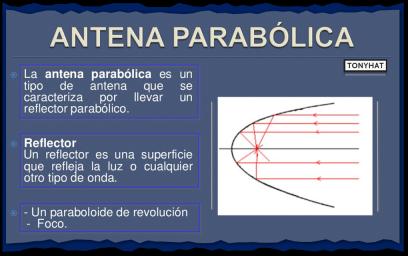"""Captura 5: Definición básica - """"antena parabólica"""" :)"""