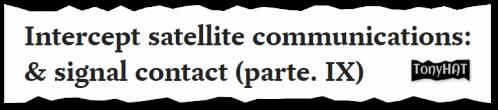 Signal Contact, ISC (X), BLOG (Art, XTRA) - 18