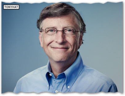 Captura: William Henry Gates III (Microsoft, Co-presidente de la Fundación Bill y Melinda Gates Miembro del consejo de Berkshire Hathaway CEO de Cascade Investment) ;)