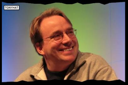 Captura: Linus Benedict Torvalds (Ingeniero de software, Linux) }:D