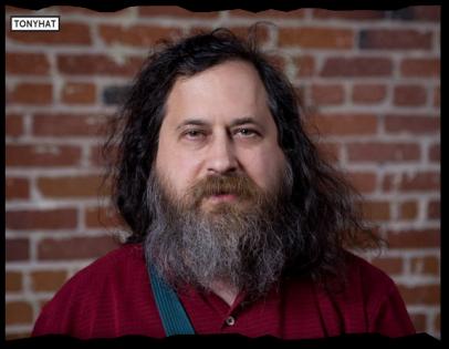 Captura: Richard Matthew Stallman (Programador y conferencista) :)