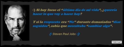 Captura: Steven Paul Jobs (Empresario) - [co-fundador de Apple y co-fundador de Pixar) ;)