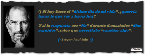 Captura: Steven Paul Jobs (Empresario) - [co-fundador de Apple y co-fundador de Pixar) ;)