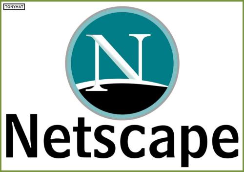 """Captura 2: Netscape Navigatos (navegador web) de la compañía """"Netscape Communications"""", creada por  :)"""