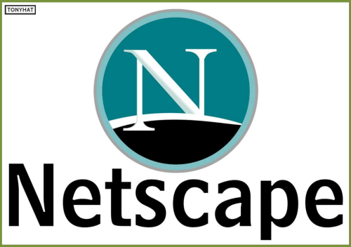 "Captura 2: Netscape Navigatos (navegador web) de la compañía ""Netscape Communications"", creada por  :)"