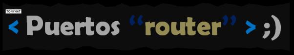 Básicos 25, P.IP.router.config - BLOG, 016