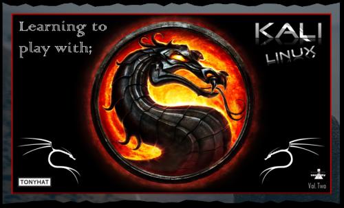"Captura 3: Kali Linux; Learning to play (vol. 2) - Artículo ""blog"" ;)"