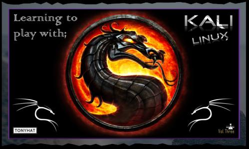 "Captura 4: Kali Linux; Learning to play (vol. 3) - Artículo ""blog"" }:D"