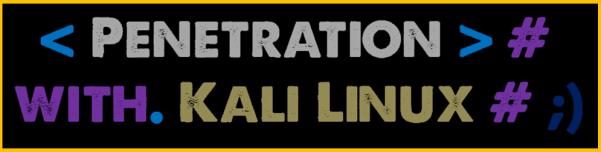 Kali Linux, LTP, Vol. One, BLOG - 006