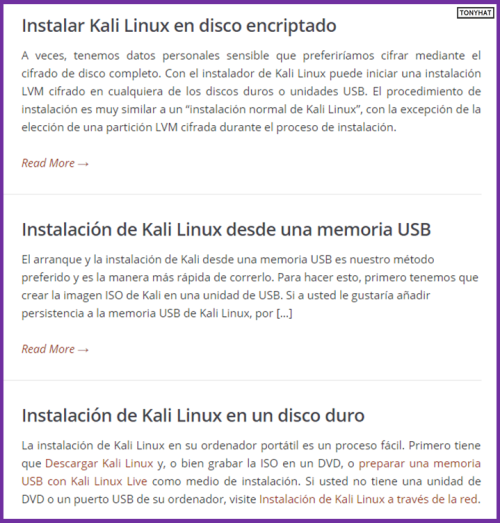 Kali Linux, LTP, Vol. One, BLOG - 010