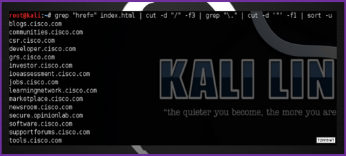 Kali Linux, LTP, Vol. Three, BLOG - 016