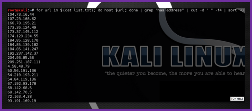 Kali Linux, LTP, Vol. Three, BLOG - 019