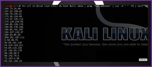 Kali Linux, LTP, Vol. Three, BLOG - 019