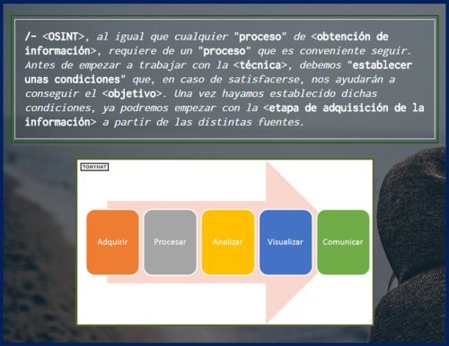 Captura 1: Final - OSINT; Gathering information (definición & procesos) (parte. I) - ;)